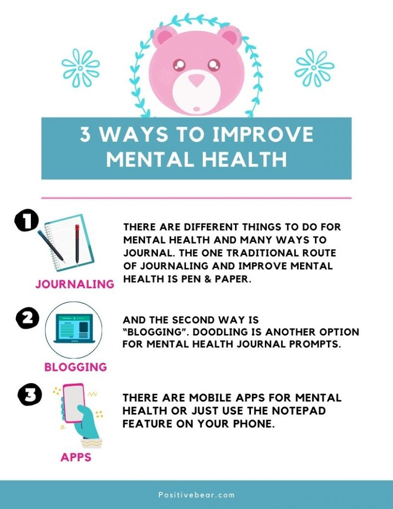 3 ways to Improve Mental Health